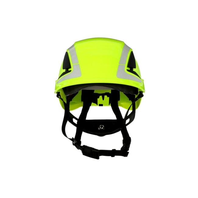 3M SecureFit Safety Helmet Hi-Viz Green; Ventilated: No; Qty: 10 / case:First