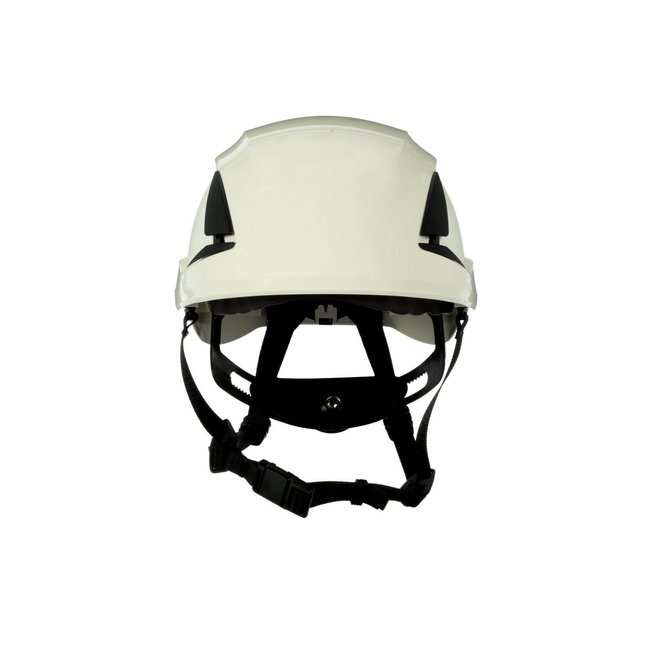 3M SecureFit Safety Helmet White; Ventilated: Yes; Qty: 10 / case:First