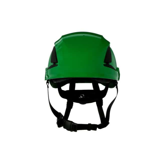 3M SecureFit Safety Helmet Green; Ventilated: Yes; Qty: 10 / case:First