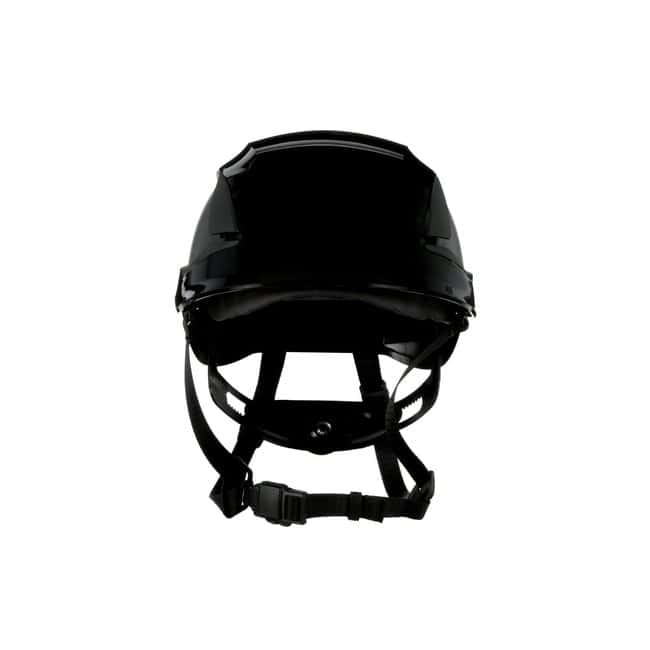 3M SecureFit Safety Helmet Black; Ventilated: Yes; Qty: 10 / case:First