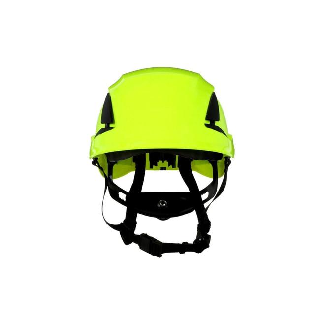 3M SecureFit Safety Helmet Hi-Viz Green; Ventilated: Yes; Qty: 10 / case:First