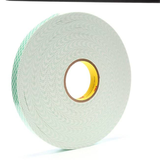 3M Double Coated Urethane Foam Tape Flexible; 62 mil thick; 1 in x 36 yd.;
