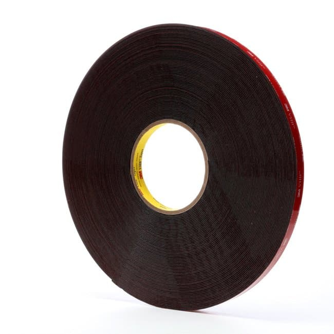 3M VHB Acrylic Foam Tape Black:Gloves, Glasses and Safety