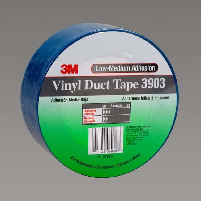 3M Vinyl Duct Tape Blue:Gloves, Glasses and Safety