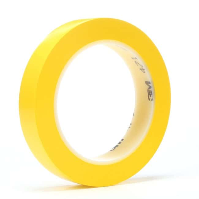 3M Vinyl Tape Yellow, 1/4 in x 36 yd:Gloves, Glasses and Safety