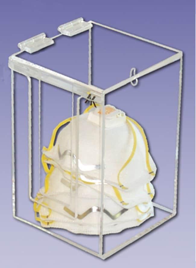 AK Face-Fit Chemical-Resistant Face Shields Face mask dispenser; Dimension: