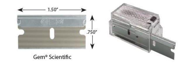 AccuTec BladesGEM 3-Facet Single Edge Blades:Facility Safety and Maintenance:Hand