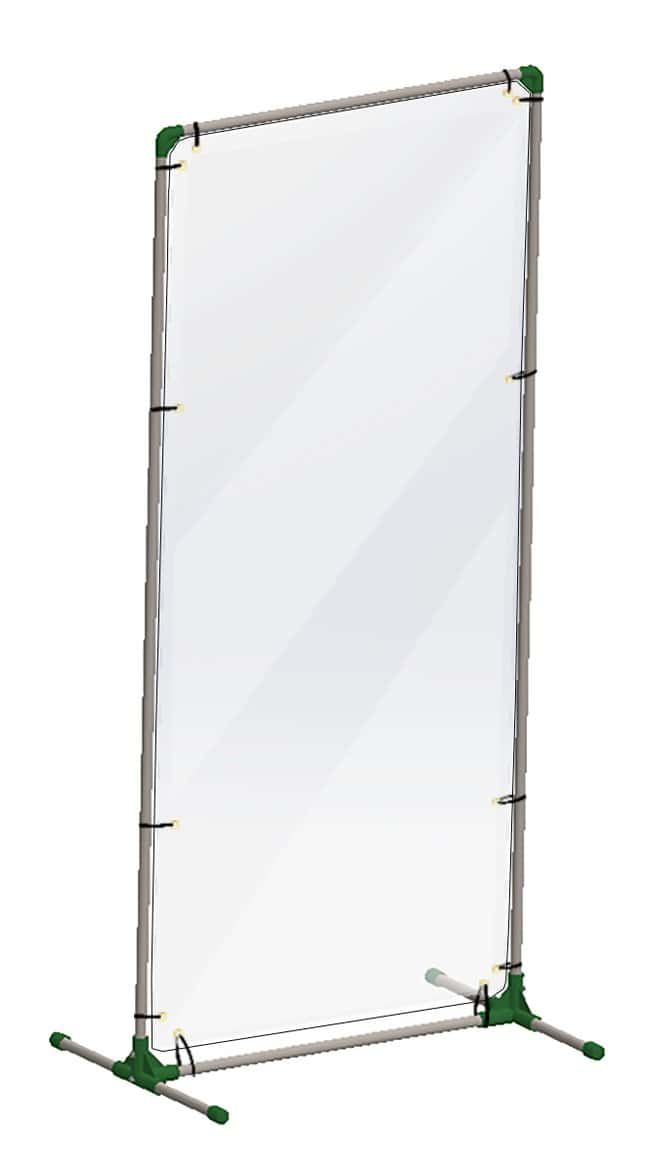 AccuformPartition Barrier Floor Panel:Facility Safety and Maintenance:Plexiglass