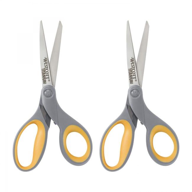 WestcottStraight Titanium Bonded Scissors 8 in.:Education Supplies