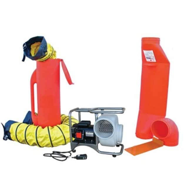 Air Systems Confined Space Ventilation Kits 2-speed:Gloves, Glasses and