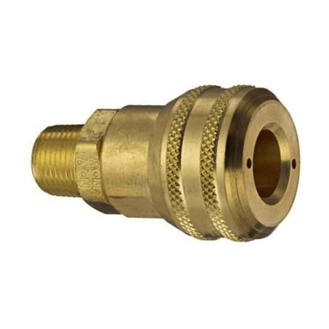 Air Systems Quick Connect Couplings 3/8 in. FPT Plug; 1/4 in. Hansen Socket:Gloves,