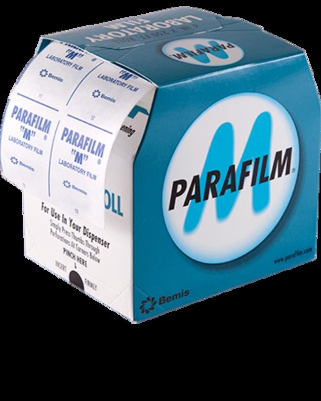 Bemis™Film d'emballage de laboratoire Parafilm™M 4pox250pi (lxL) (10cmx76m) Bemis™Film d'emballage de laboratoire Parafilm™M