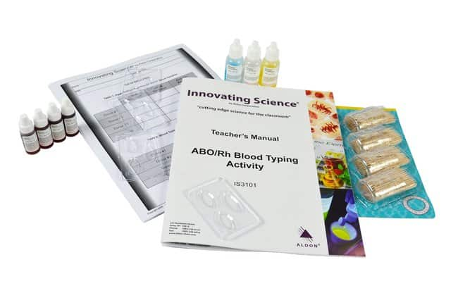 Innovating Science™ Blood Typing Kits with Simulated Blood