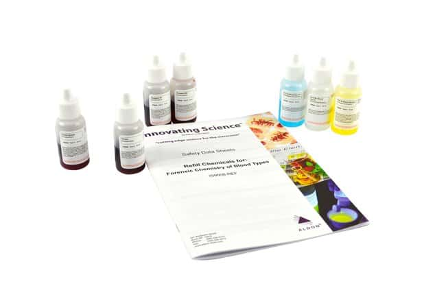 Innovating Science™ Forensic Chemistry of Blood Types Kit