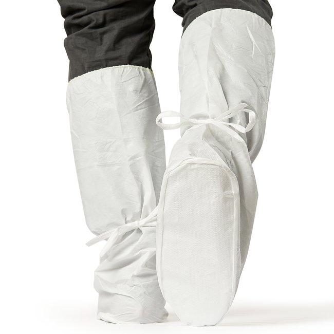 AlphaProTech AquaTrak MaxGrip Boot Covers Elastic top with ankle ties;
