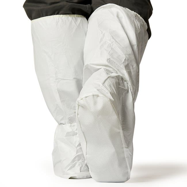 AlphaProTech Critical Cover™ Microbreathe™ UltraGrip™ Boot Covers with Elastic Ankle