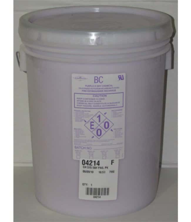 Amerex Purple K Dry Chemical Recharge Pail 50 lb.:First Responder Products