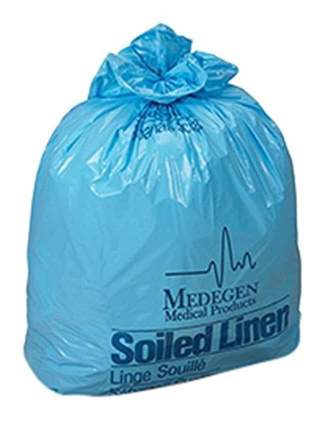 MedegenLow-Density Laundry and Linen Bags in Rolls Label: Soiled Linen;