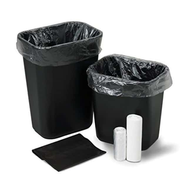 MedegenHigh-Density Institutional Trash Can Liners in Rolls:Facility Safety