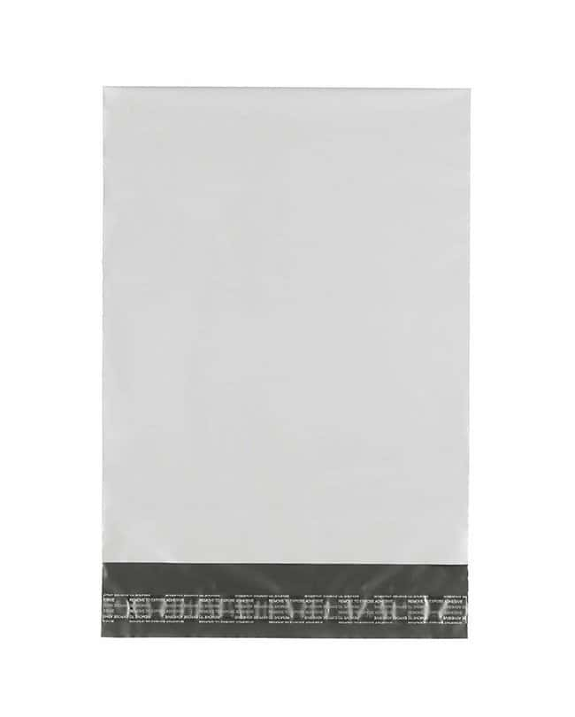 Ampac Flexibles KeepSafe White/Silver Polymailer Bags L x W: 9 x 6 in.;