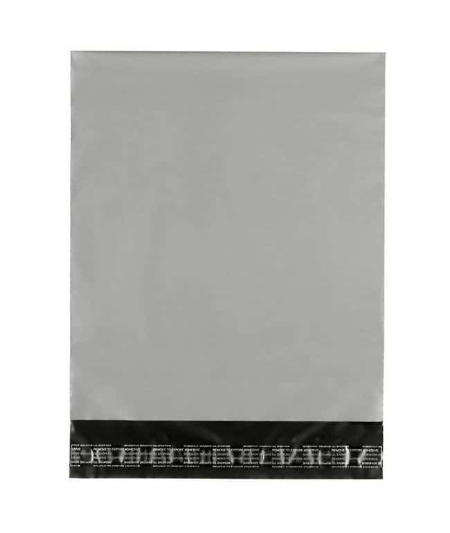 Ampac Flexibles KeepSafe Gray/Black Polymailer Bags L x W: 9 x 6 in.; 1000/Cs.:Racks,