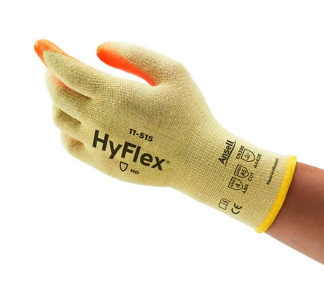 AnsellHyFlex™ 11-515 Hi-Vis Cut-Resistant Nitrile Gloves with Intercept Technology™ Construction 10 Products