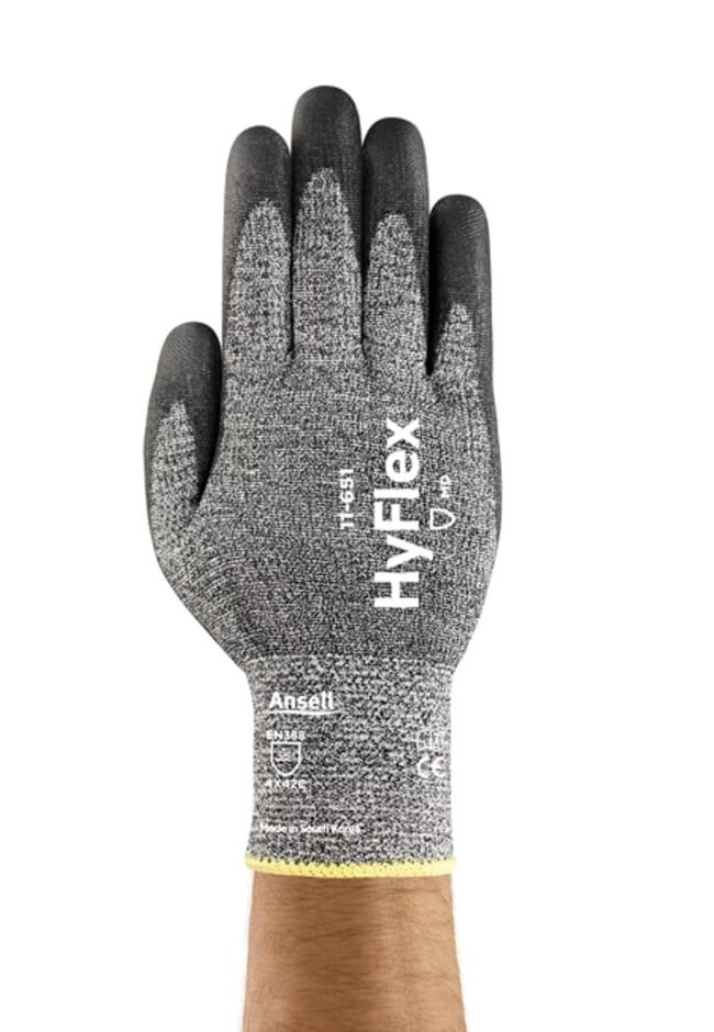 AnsellHyFlex™ 11-651 Medium Duty Cut-Resistant Industrial Gloves 10 Products
