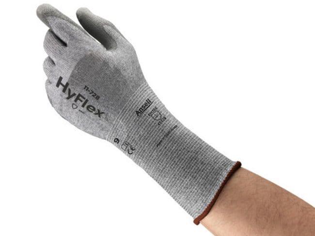 AnsellHyFlex™ 11-728 Polyurethane-Coated HPPE-Lined Gloves with Intercept™ Technology 8 voir les résultats