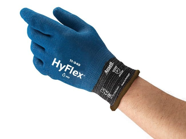 Ansell HyFlex™ 11-949 Microfinished Nitrile-Coated Gloves with Intercept Technology™ 9 Products