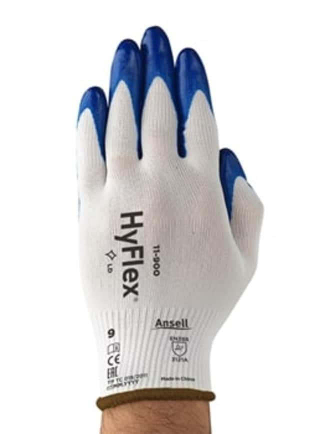 AnsellHyFlex™ 11-900 Nitrile-Coated Knit Nylon Gloves