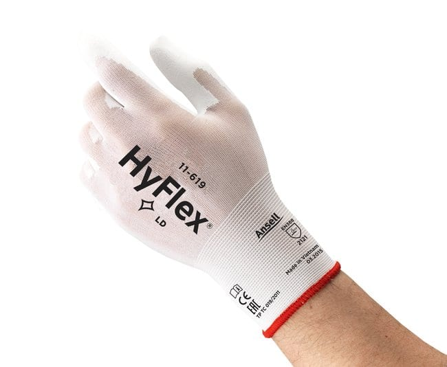Ansell Edmont™ HyFlex™ 11-619 Series Knitted Polyurethane Light Gloves Size: 7 Products