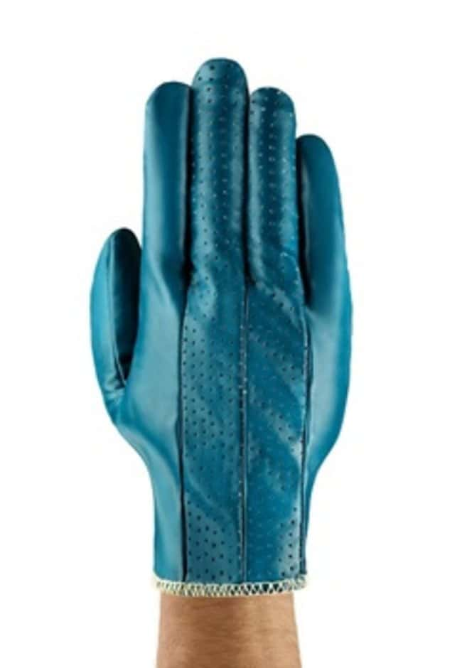 AnsellGants de poids moyen en nitrile bleu Hynit™ série32-125 Dos climatisé; taille: 10 AnsellGants de poids moyen en nitrile bleu Hynit™ série32-125