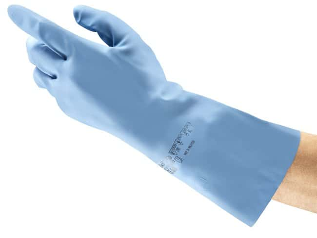 Ansell Edmont™Versatouch™ 37-520 Series Blue Nitrile Immersion Gloves Size: 10.5 Products