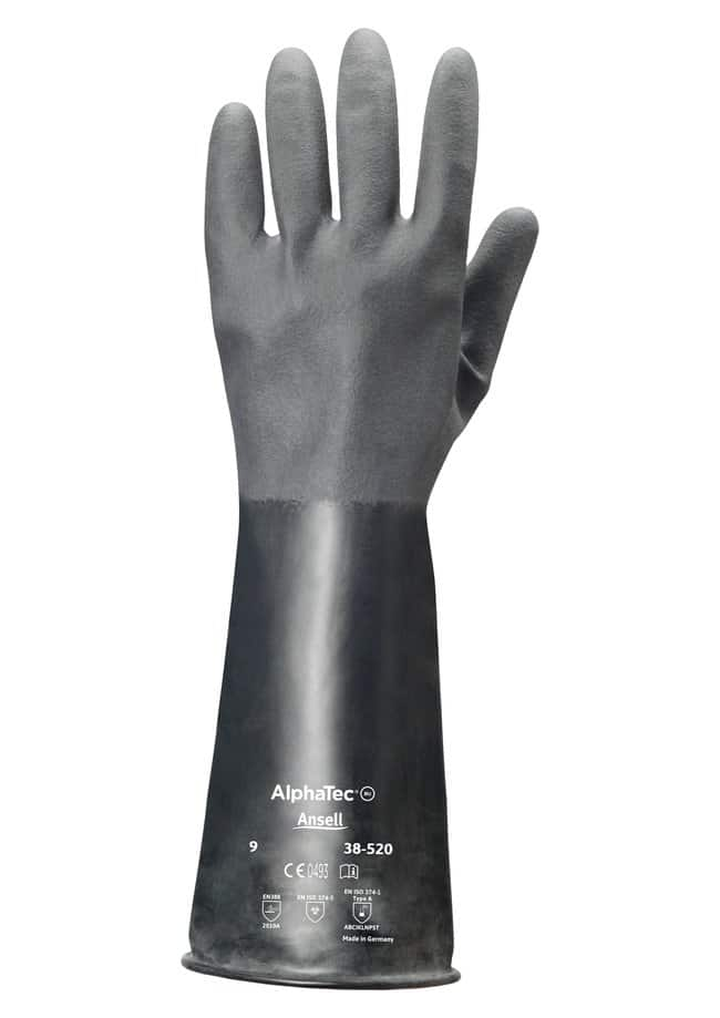 Ansell Edmont™ ChemTek™ 38-520 Series Butyl Polymer Immersion Gloves Size 7 products