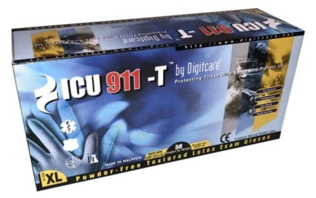 Ansell Digitcare ICU 911-T Medical Exam Gloves Small, Box:Gloves, Glasses