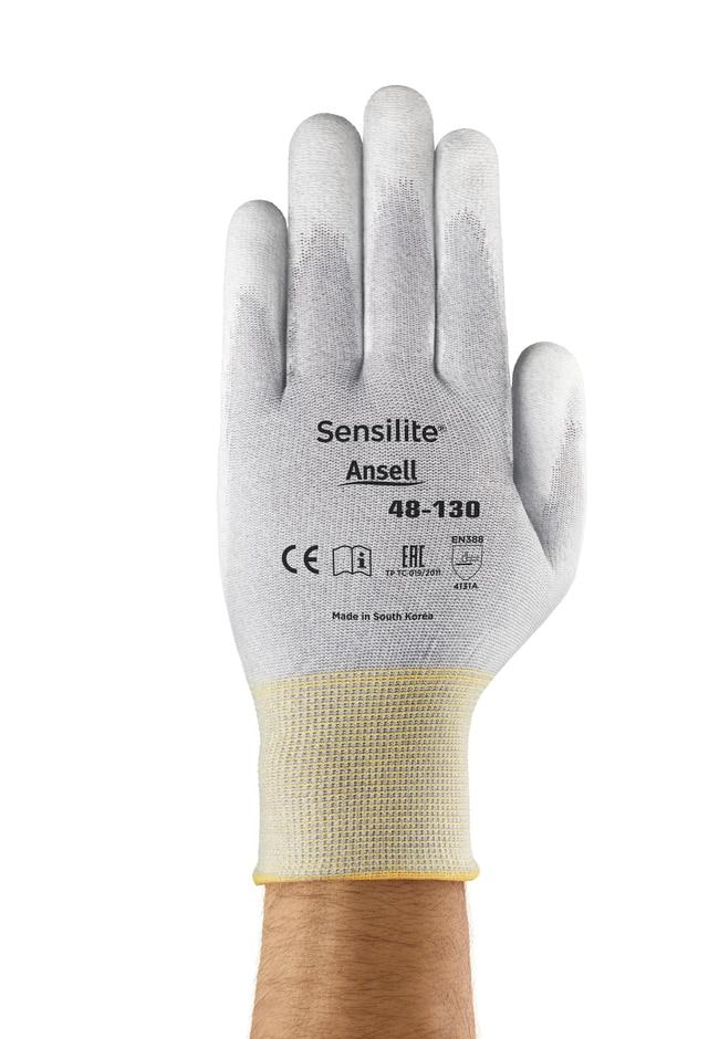 Ansell™Gants en polyuréthane pour utilisation peu intensive Sensilite™ série48-130 Taille: 10 voir les résultats