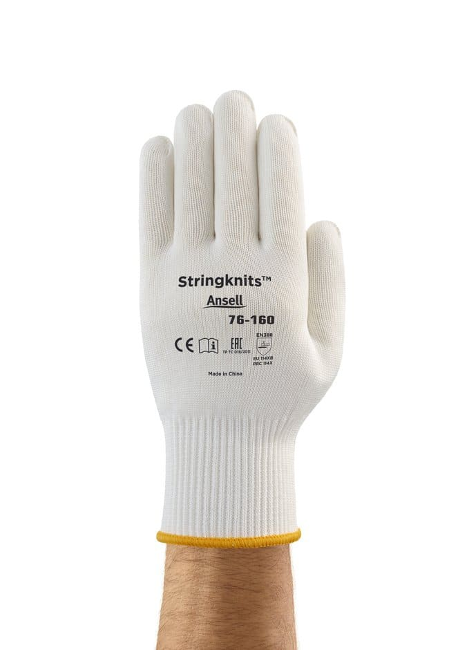 Ansell Edmont™ String Knits™ 76-160 Series Natural Cotton Light Weight Gloves Size: 8 products