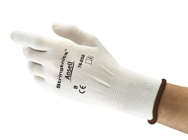 Ansell™String Knits™ 76-202 Series White Nylon Light Weight Gloves Size: 8 products