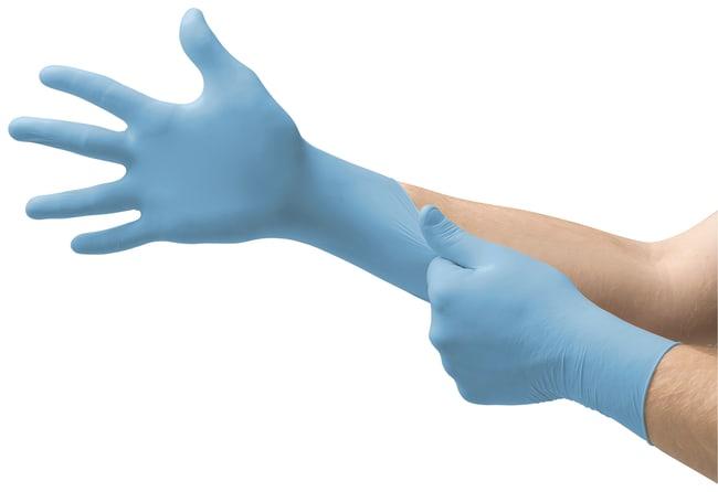 Ansell Edmont™Guantes de nitrilo azul claro proFood™ serie 92-471 Size: 8 to 8.5 Ansell Edmont™Guantes de nitrilo azul claro proFood™ serie 92-471