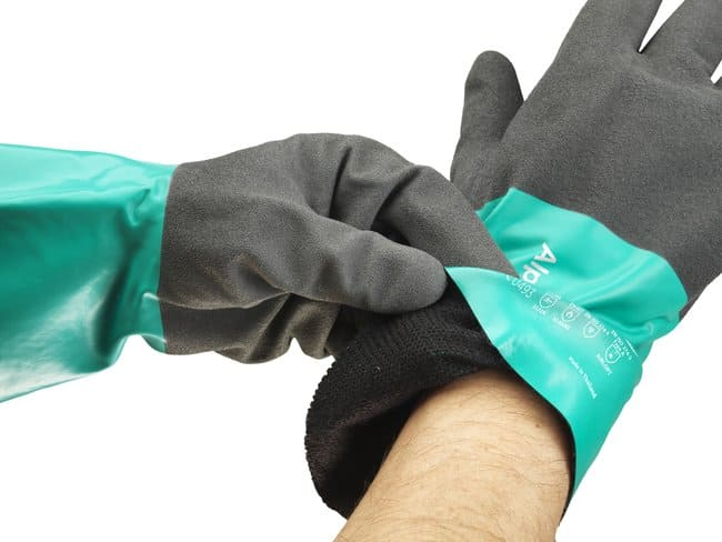 Ansell™AlphaTec™ 58-530B Liquid-Proof, Chemical Resistant Glove