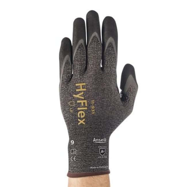 Ansell™HyFlex™ schnittfeste, ölabweisende Nitrilhandschuhe mit beschichteten Handflächen Größe: 11 Produkte