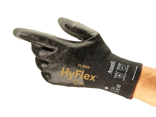 Ansell™HyFlex™ 11-928 Glove with Glass-Free Intercept™ Liner Size: 10 Ansell™HyFlex™ 11-928 Glove with Glass-Free Intercept™ Liner