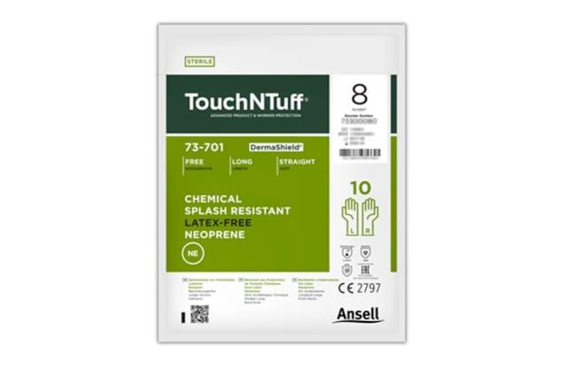 AnsellTouchNTuff™ DermaShield™ 73-701 Sterile Neoprene Gloves