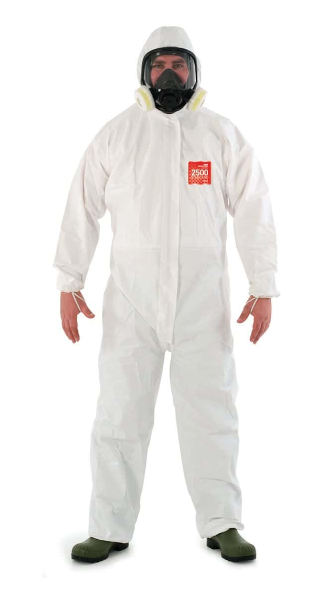 Ansell Edmont™Microgard™ 2500 Standard Coveralls with Hood Medium Ansell Edmont™Microgard™ 2500 Standard Coveralls with Hood