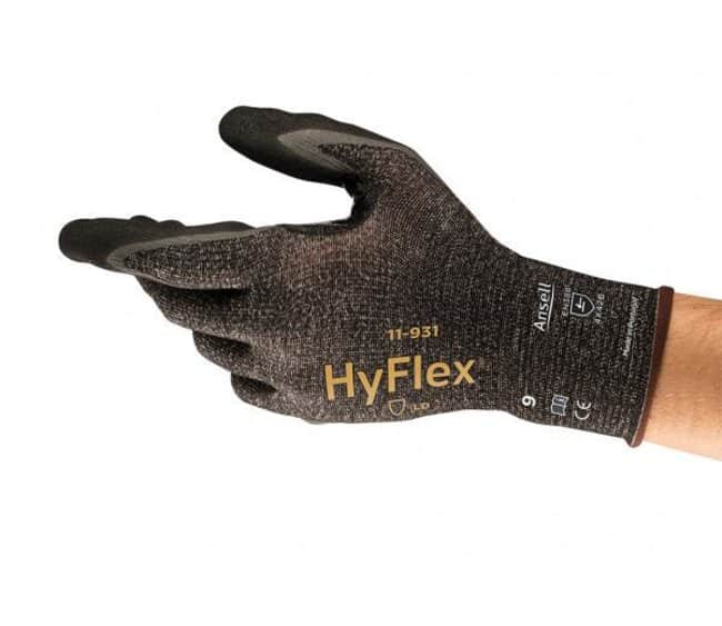 Ansell™HyFlex™ Cut-resistant Oil Repellent Palm Coated Nitrile Gloves Size: 7 Products