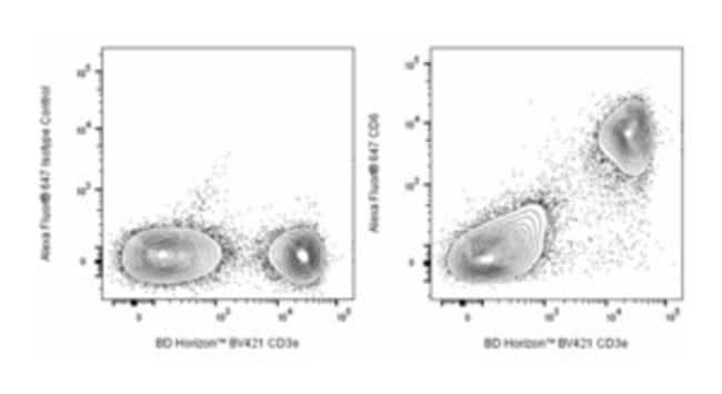 CD6 Rat anti-Mouse, Alexa Fluor 647, Clone: J90-462, BD Pharmingen Ms CD6
