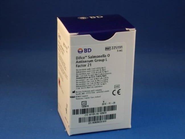 BDDifco Salmonella O Antisera and Quality Control Antigens:Microbiology