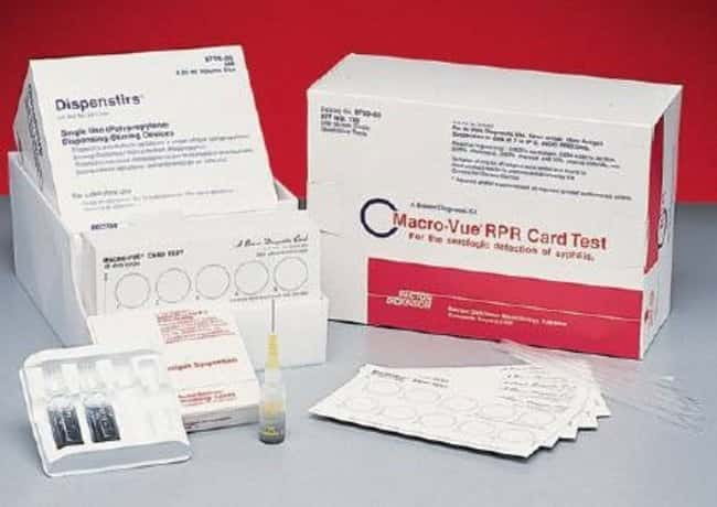 BD Macro-Vue RPR (Rapid Plasma Reagin) 18mm Circle Card Tests: Cards  RPR