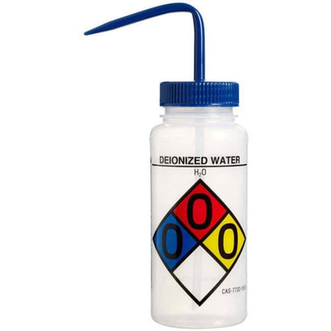 Bel-Art™ SP Scienceware™ Wash Bottles: Deionized Water
