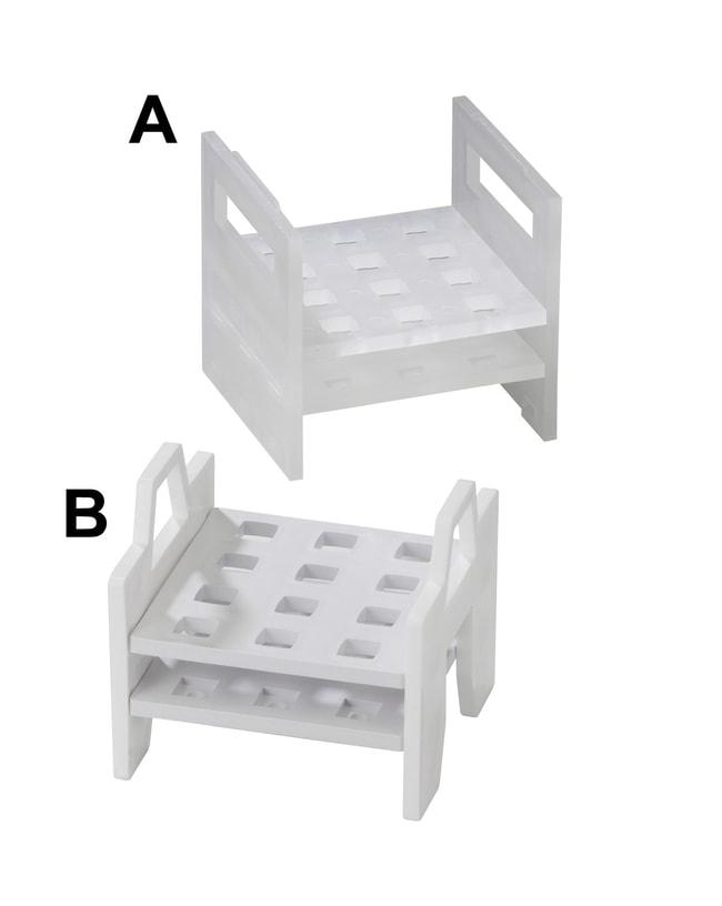 Bel-Art™SP Scienceware™ Cuvet Racks 11.1 x 11.1 x 11.4cm (4.5 x 4.375 x 4.375 in.) Bel-Art™SP Scienceware™ Cuvet Racks